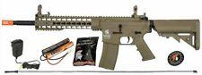 Lancer Tactical G2 M4 KEYMOD AEG Metal Gears Airsoft Gun Rifle w/ 9.6v - TAN