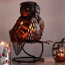 "PartyLite ""Artisan Owl"" Jar Candle Holder, Nib"