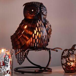 "PartyLite ""ARTISAN OWL"" Jar Candle Holder,  NIB"