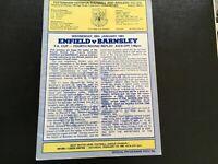 ENFIELD V BARNSLEY FA CUP 1980/81 PLAYED AT TOTTENHAM HOTSPUR