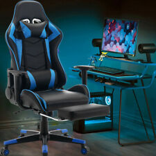 More details for swivel racing gaming chairs office executive recliner pc computer desk chair uk