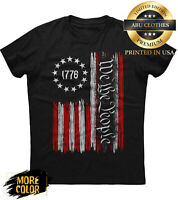 We The People American Constitution 1776 Classic T-Shirt For Men Woman