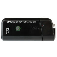 USB Emergency Portable 2AA Battery Charger for Apple iPhone 4 4S 5 5C 5G 5S SE