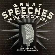 Great Speeches of the 20th Century - Volume 1 - The Political Arena (CD, Album)