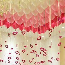 Fuchsia Pink, Pearl Pink & White Balloons (30PCE)-Party Decorations-Helium QLTY