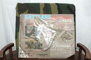 Rattlers Snake Proof CHAPS by Thomaston Heavy Duty DuPont Cordura Nylon Regular