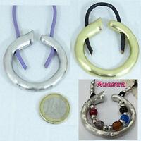 Autentico Zamak Abalorio Para Collar 50mm Ciondolo Pendant Perline Beads Charms