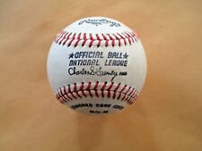 National League Official Baseball Charles S. Feeney New and Unused