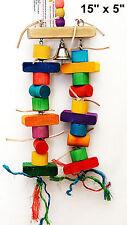 Pet Bird Parrot Toys Riki Tiki Fun Cage Toys Amazon Conure Senegal Mini Macaw