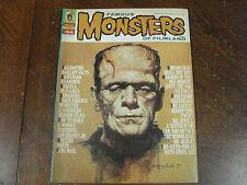 Famous MONSTERS of Filmland Magazine Nov 1972 #94 Karloff Dracula Dorian Gray