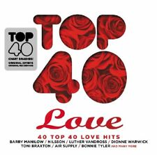 Various Artists - Top 40 - Love - Various Artists CD DSLN The Fast Free Shipping