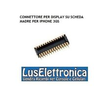 CONNETTORE FLAT AGGANCIO N.1 PER DISPLAY LCD SU SCHEDA MADRE PER IPHONE 3GS