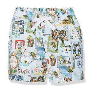 Christian Lacroix baby Boys Cotton Shorts Colourful Playing Cards Print 12 month