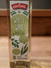 Carlini White Wine Vinegar 16.9 fl oz Marinades Dressings 1pt .9 Salad Dressing