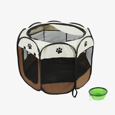 New listing Portable Pet Dog Playpen Tent Crate Room Folding Pet Big Tent Dog House Cage Usa
