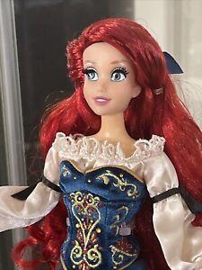 Disney Fairytale Designer Ariel Little Mermaid LE Doll Limited D23 Stand COA #96