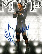 Tna Wrestler Mvp Signed 8x10 Photo Coa