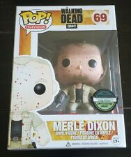 Funko Pop! #69 Merle Dixon Bloody The Walking Dead 2013 Convention Exclusive