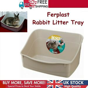 Toilet for Rodent Cages Rabbits and Small Easy Ferplast Rabbit Litter Tray L 305