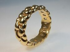 Cuff Yellow Gold 18Carat Fine Bracelets without Stones