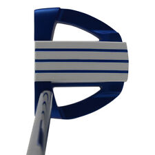 """Bionik 701 Blue Golf Putter Right Handed Mallet Style 35"""" for Tall Ladies"""
