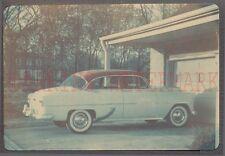 Vintage Color Photo 1953 Chevrolet Car Chevy 210 Automobile 683851