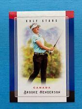 2020 Golf Stars Brooke Henderson Trading Card LPGA