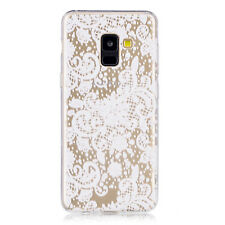 Ultra Thin Clear Flexible Soft Silicone Case Cover For Samsung Galaxy A6 A8 2018
