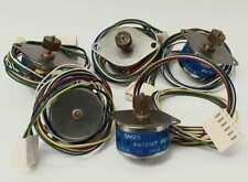 Lot Of 5 New Fuji Electrochemical Co Sm25 2005 A Stepper Motors