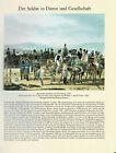 Auf dem Marsch 1803 - Der Soldat in Dienst und Gesellschaft