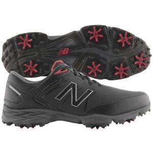 Mens New Balance Striker Golf Shoes NBG2005BRD Black / Red 8.5 M