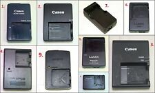 9x Assorted Genuine Camera Battery Chargers (Price for each)