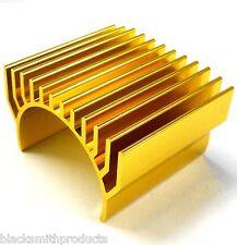 AH002 550 540 Motor Cooling Heatsink Heat Sink Vented Vent Top Gold 35mm x 1
