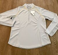 NWT Tournament Collection Womans Large Half Zip Pullover Activewear Top