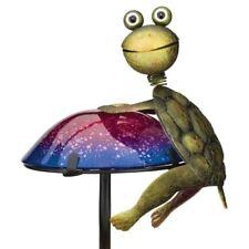 Regal Solar Mushroom Critters Stake - Turtle