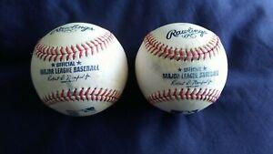 MLB Baseballs (ROMLB) / 2 Batting Practice / Robert D. Manfred Jr. Commissioner