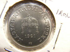 Hungary 1921 20 Filler, Iron Proof, KM#498, Authorized restrike, Better Date
