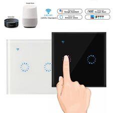 2 банда WiFi смарт-сенсорный переключатель домой стены свет таймер приложение для Алекса Google ifttt
