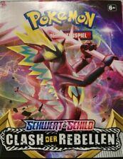 50 verschiedene Pokemon Karten Schwert & Schild Clash der Rebellen Deutsch