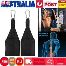 Weight Lifting Boxing Ab Sling Straps Bar Fitness Abdominal Chin Up Suspension
