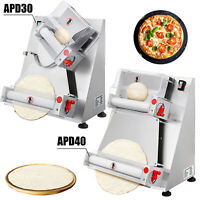 Electric Dough Sheeter Stainless Steel Pizza Dough Roller Sheeter 110V 30/40CM