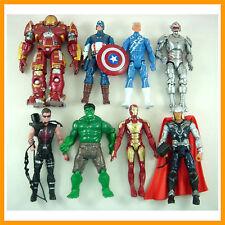 8 pcs Super Hero Avengers Age of Ultron Heroes 15cm-17cm Action Figure + GIFT