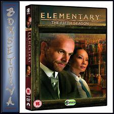 Elementary Season 5 Fifth Series Five Region 4 DVD