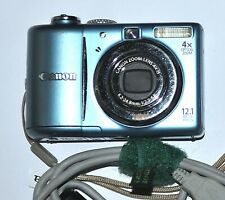 CANON POWERSHOT A1100 IS 12.1 MPIXEL 4X ZOOM GOOD CONDITION POLICE SURPLUS