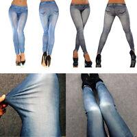 Women Pencil Stretch Casual Denim Skinny Jeans Pants Low Waist Jeans Trousers