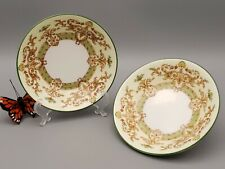 "Cauldon English Bone China Saucers V 8920 - 5-5/8"" bowls set of 2"