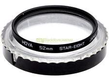 52mm. filtro Star eight Hoya. Star filter. Stella a 8 punte.