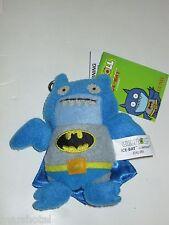"UGLY DOLLS  UGLYDOLL DC COMICS BATMAN ICE-BAT  4""  PLUSH KEY CHAIN CLIP ON BLUE"