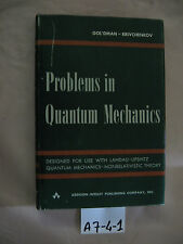 Gol'dman Krivchenkov PROBLEMS IN QUANTUM MECHANICS