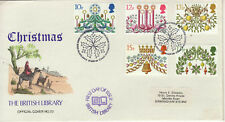 BRITISH LIBRARY FDC 1980 CHRISTMAS No 23 PM BETHLEHEM